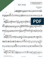 Hindemith - Acht Stucke (contrabbasso)