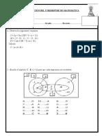 Evaluacion - (La Salle)MATEMATICAS 2012