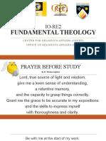 Module-1_Fundamental-Theology-Introduction