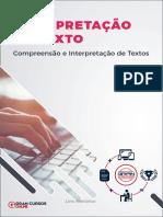 Aula 1 - Compreensão e Interpretação de Textos - Bruno Pilastre de Souza Silva Dias
