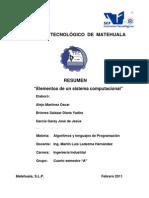 Componentes básicos de una computadora 1