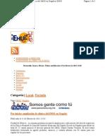 15-02-11 Por iniciar ampliación de clínica del IMSS en Nogales