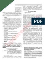 Precedente-Sancion por presentacion de doc.Falsa