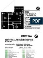 2000 BMW Z3 - M Roadster - Z3 - M Coupe Electrical Troubleshooting Manual