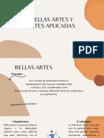 Bellas Artes y Artes Aplicadas