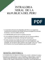 CONTRALORIA GENERAL  DE LA REPUBLICA DEL PERU