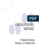 Regulation des emotions