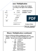 Binary Multiplication n Division