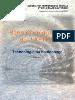 GT6&7R1F3- Technologie du boulonnage