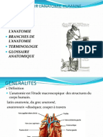 GENERALITES SUR L_ANATOMIE