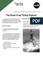 NASA the Rossi X-Ray Timing Explorer