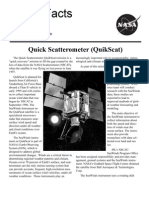 NASA Facts Quick Scatterometer QuikScat
