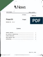 RCA Satcom 1R Press Kit