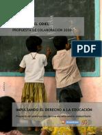 Escuela Marismas del Odiel, Fundación Vicente Ferrer Huelva
