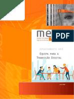 Apontamento 4. Criação de uma equipa para Coordenar o Plano para a Transição Digital