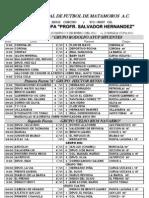 Resultados Copa 2011 Jornada 1