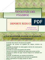 Vóleibol Deporte Reducido