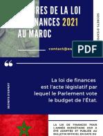 Loi de Finances 2021 au Maroc