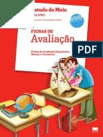 Fichas de Avaliação Mensal Gai Livro 4 Ano Estudo Do Meio