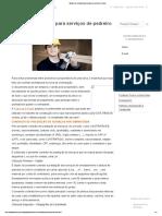 Modelo de contrato para serviços de pedreiro _ Foxlux