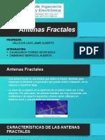 Antenas Fractales PPT