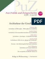 Architektur und GEsellschaft