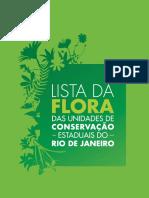 CNC Flora - Lista da Flora das Unidades de Conservação Estaduais do estado do Rio de Janeiro