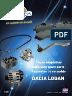 Dacia_Logan pieces automobile