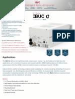 Terrasat IBUC G C band Datasheet