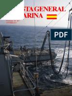 REVISTA GENERAL DE MARINA - OCTUBRE 2015 - FUNDADA EN 1877
