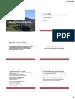 01_Introducción. Urbanismo y enfoques actuales.