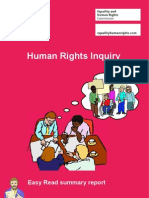 Human Rights Inquiry Report