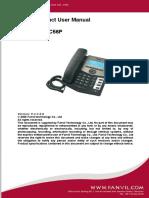fanvil c56p manual