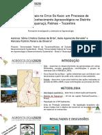 APRESENTAÇÃO - AGROECOLOGIA2020