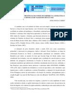 O SERTANEJO DAS PROVÍNCIAS DO NORTE DO IMPÉRIO NA LITERATURA E