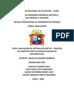 PROCESO DE CONSTRUCCIÓN DE MODELOS