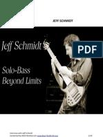 Jeff Schmidt Interview (in english)