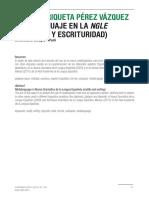 Metalenguaje En La NGLE Oralidad Y Escrituridad