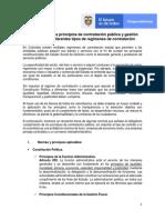 Aplicación de Los Principios de Contratación Pública y Gestión Fiscal en Los Diferentes Tipos de Regímenes de Contratación (1)