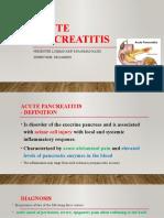 Acute Pancreatitis(Luqman)