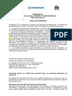 Aviso aos Acionistas  dividendos 2018  portugues e ingles