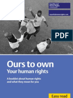 HUMAN RIGHTS Ours to Own