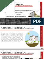 CONFORT CLIMATICO.pptx