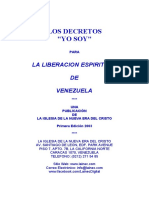 DecretosYOSOYLiberacionEspiritualVenezuela