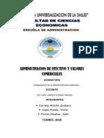 GRUPO N° 7 - Administracion de efectivo y valores comerciales capitulo 9
