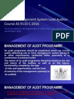 13-AS9110C_2016LA_MANAGEMENT OF AUDIT PROGRAMME