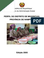 Características do districto de Mogincual, Moçambique