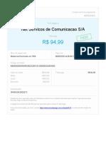 Comprovante Pagamento NET 05-20