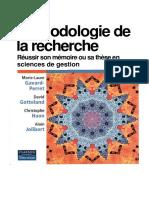 Méthodologie de recherche, réussir son mémoire ou sa thèse en sciences de gestion (1)