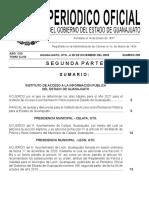 Gaceta GTO 28 de Diciembre